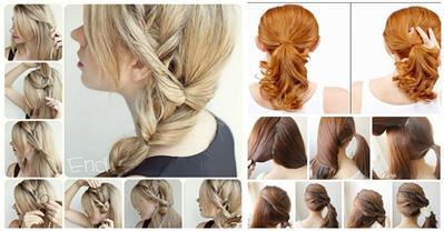 12 kiểu tóc buộc trong vòng 5 phút đẹp đến ngỡ ngàng
