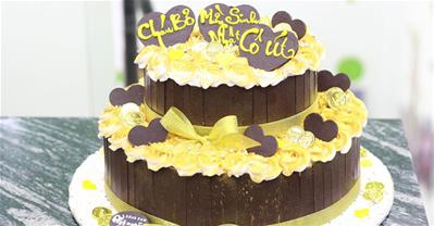 25+ mẫu bánh sinh nhật 2 tầng đẹp mắt, ấn tượng cho ngày đặc biệt