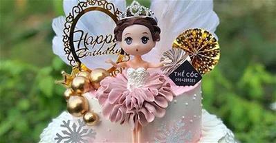25+ mẫu bánh kem búp bê đẹp nhất cho bé gái trong ngày sinh nhật