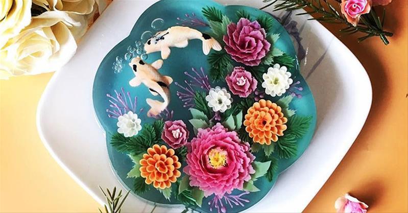 25+ mẫu bánh sinh nhật rau câu đẹp mắt và 4 cách làm tại nhà đơn giản