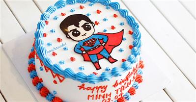 25+ mẫu bánh sinh nhật siêu nhân cho bé trai đẹp, độc và cực ngầu