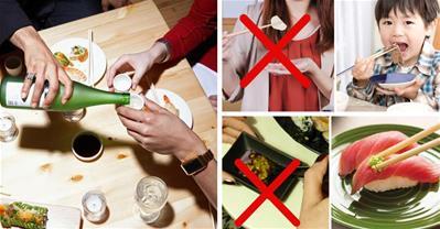 6 lưu ý trên bàn tiệc Nhật giúp bạn không bị mất mặt