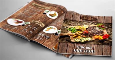 7 bước thiết kế Menu nhà hàng không chỉ đẹp mà còn hút khách
