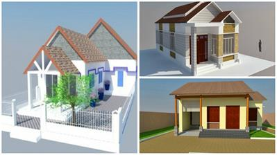 8 mẫu thiết kế nhà cấp 4 đẹp, đơn giản nhưng hiện đại