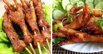 Ăn vặt say mê với chân gà nướng sa tế ngon rẻ tại nhà