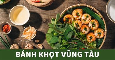 Bánh khọt Vũng Tàu thuộc top 12 đặc sản Việt Nam ai cũng nên thử
