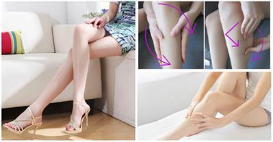 Bắp chân thô, ngấn mỡ trở nên thon thả với cách này