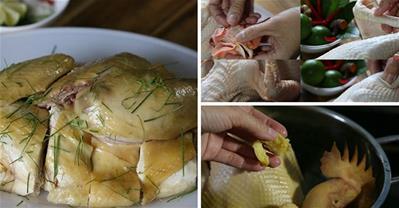 Bỏ túi 5 mẹo luộc gà ngon bất bại từ đầu bếp Sành