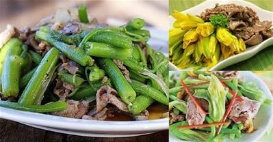 Bông bí xào thịt bò – Món ngon đậm vị quê hương