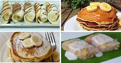 Các cách làm bánh từ chuối ngọt ngào hấp dẫn