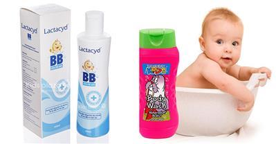 Các loại sữa tắm tốt nhất cho bé được mẹ tin dùng