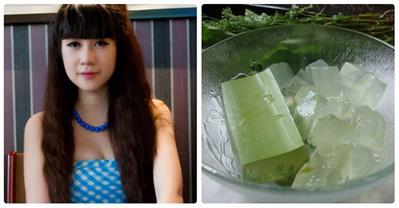 Cách chữa rụng tóc, tóc mọc dài 5cm/tháng của vợ Lý Hải