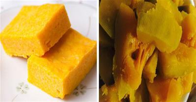 Cách làm bánh bí ngô hấp sữa dừa giúp tăng cân nhanh