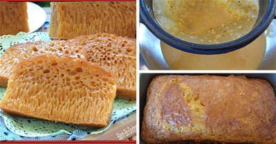 Cách làm bánh bò thốt nốt nướng không cần ủ cực nhanh