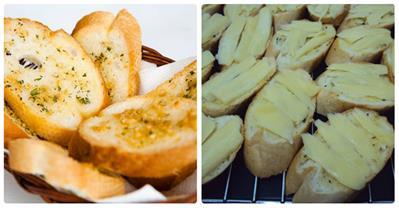 Cách làm bánh mì bơ tỏi giòn rụm đơn giản tại nhà