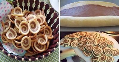 Cách làm bánh tai heo giòn tan không dùng lò nướng