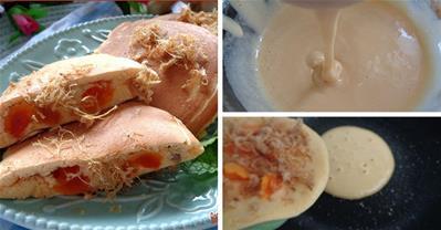 Cách làm bông lan trứng muối bằng chảo chống dính