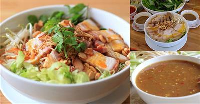 Cách làm bún mắm nêm Đà Nẵng đơn giản cho bữa sáng