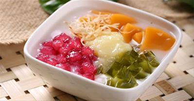 Cách làm chè củ năng trái cây mát lạnh thanh nhiệt