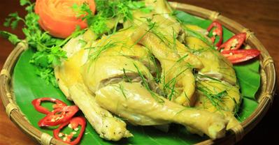 Cách làm gà hấp muối sả siêu ngon bằng nồi cơm điện tại nhà