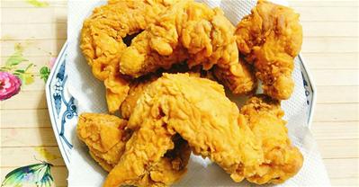 Cách làm gà rán KFC GIÒN TAN, VÀNG RUỘM tại nhà