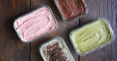 Cách làm kem chuối với 4 vị thơm ngon dễ không tưởng