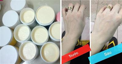 Cách làm kem trộn trắng da siêu nhanh an toàn tại nhà