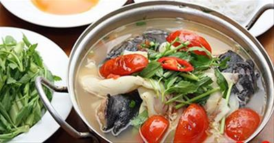 Cách làm lẩu cá lăng chua chua hấp dẫn ai ăn cũng mê