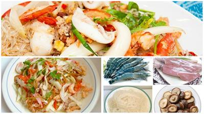 Cách làm miến xào hải sản khiến bạn mê mẩn