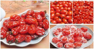 Cách làm mứt cà chua bi dẻo ngon đón Tết về