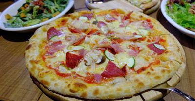 Cách làm Pizza bằng chảo chống dính đơn giản, cực ngon