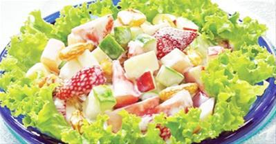Cách làm Salad Hoa Quả tươi ngon giúp đẹp da, thon dáng