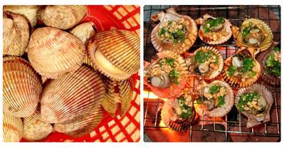 Cách làm sò dương nướng mỡ hành cực hấp dẫn