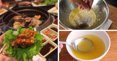 Cách làm sốt dầu dấm cho các món nướng, trộn thêm ngon