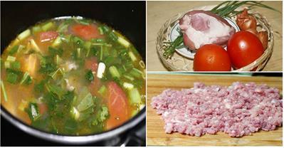 Cách nấu canh chua thịt băm nhanh gọn ngày đầu tuần