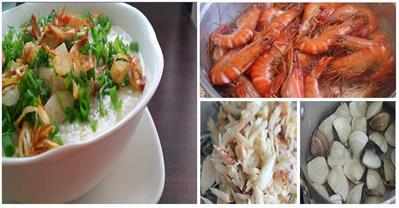 Cách nấu cháo hải sản vô cùng bổ dưỡng, đậm vị mà không tanh