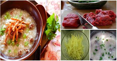 Cách nấu cháo thịt bò thơm ngon bổ dưỡng trọn hương vị