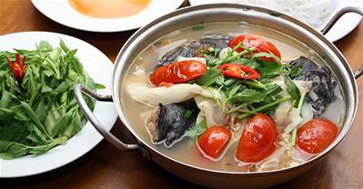 Cách nấu lẩu cá tầm măng chua đơn giản ngay tại nhà