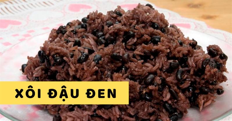 Cách nấu xôi đậu đen tại nhà phòng chống TIM MẠCH, 99% không biết