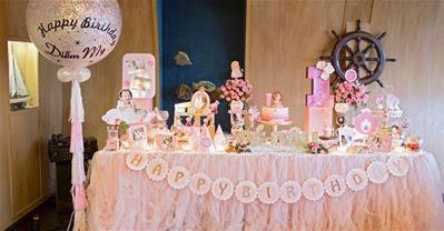 Cách trang trí bàn sinh nhật cho bé yêu ấn tượng, đẹp mắt