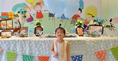 Cách trang trí sinh nhật cho bé gái tại nhà đơn giản, tuyệt đẹp