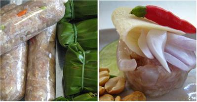 Chỉ bạn cách làm nem chua kiểu Thái ăn một lần là mê