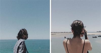 Choáng ngợp với vẻ đẹp ngỡ ngàng của biển Thiên Cầm