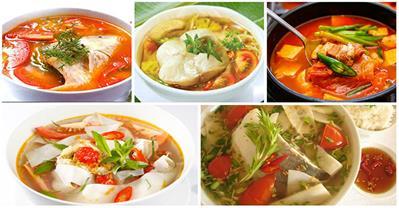 Công thức nấu 14 món canh chua ngon chống ngấy ngày Tết
