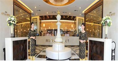 Công trình mô phỏng bàn cờ vua cổ lớn nhất ở Royal City