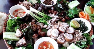 Độc đáo nét văn hóa ẩm thực dân tộc Mường ở Hòa Bình