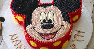 Độc đáo những mẫu bánh kem hình con chuột dành cho người tuổi Tý