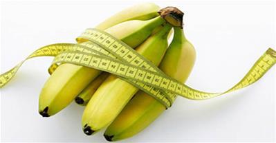 Giảm 3kg mỡ thừa sau 10 ngày với 6 quả chuối mỗi ngày