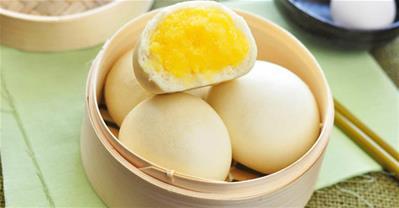 Học cách làm bánh bao trứng sữa cực đơn giản, cực ngon