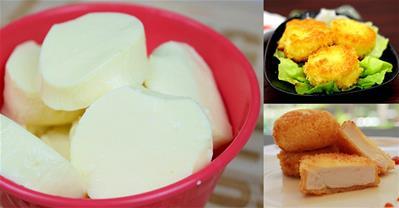 Học cách làm đậu hũ non từ trứng gà mềm mịn đơn giản